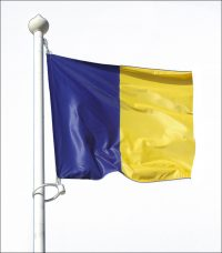 Bandera cuadrada