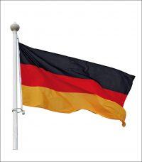 Bandera doble cuadrada