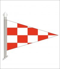 Bandera triangular
