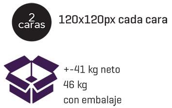 embalaje para cruz P8xxl